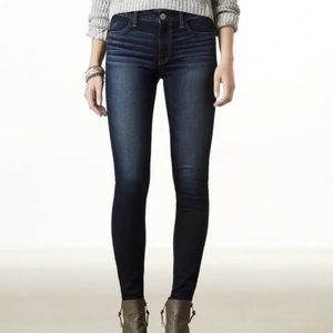 American Eagle super stretch skinny jeans 10